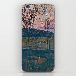 Egon Schiele - Setting Sun iPhone Skin