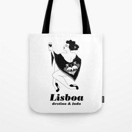 Lisboa - destino & fado Tote Bag