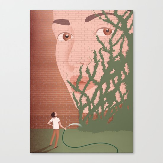 Learn to forget Canvas Print