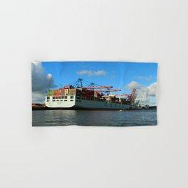 Cosco Cotainer Ship Hand & Bath Towel
