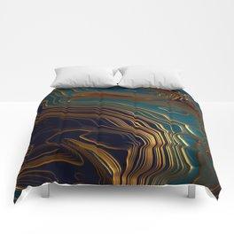 Peacock Ocean Comforters