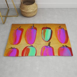 small pink peppers Rug