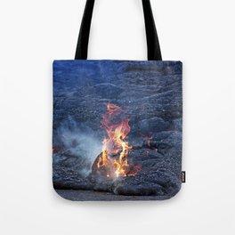 Kilauea Volcano Lava Flow. 5 Tote Bag