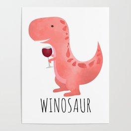 Winosaur Poster