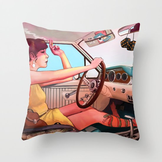 The Getaway Throw Pillow