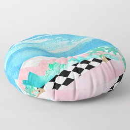 Welcome to Pastel Pointe Floor Pillow