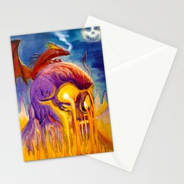 A Night On Skull Mountain Stationery Cards