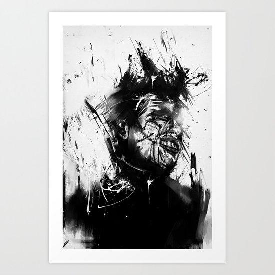 glasswall Art Print