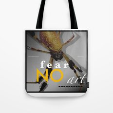 Orbweaver FEAR NO ART Tote Bag