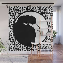 One Black Sheep Wall Mural