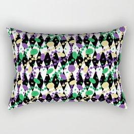 Mardi Gras Throws Rectangular Pillow