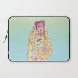 Candid Candy Lady Laptop Sleeve