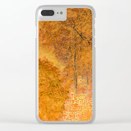 Autumn shine Clear iPhone Case