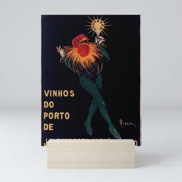 Vintage Porto Wine Ad by Leonetto Cappiello Mini Art Print