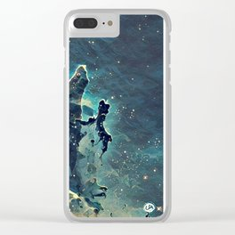 ALTERED Pillars of Creation Clear iPhone Case