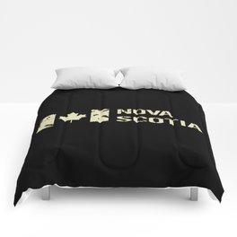 Canadian Flag: Nova Scotia Comforters