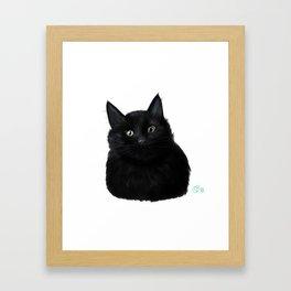 Kitty Loaf Framed Art Print