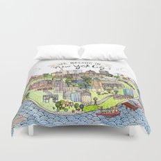 New York City Love Duvet Cover