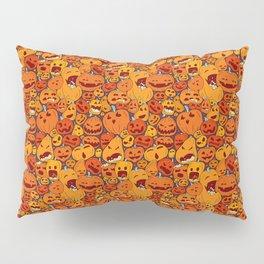 Halloween pumpkin pattern Pillow Sham