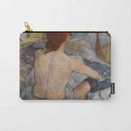 Henri De Toulouse Lautrec Rousse Carry-All Pouch