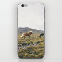 Icelandic horses iPhone Skin