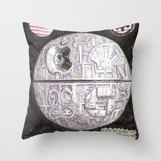 Death Star 2012 Throw Pillow