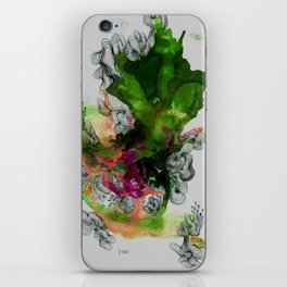 Green Ruin iPhone Skin