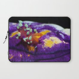 A lone traveller (supermacro flabellina) Laptop Sleeve