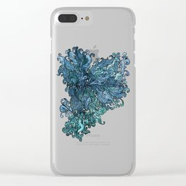 Betta Splendens - Blue Clear iPhone Case