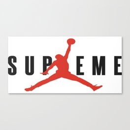 supreme jump Canvas Print