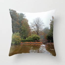 The Water Garden Throw Pillow