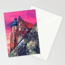 Cracow Kazimierz art Stationery Cards