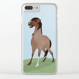 Dominant mare Clear iPhone Case