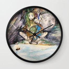 Mye's Earth Wall Clock