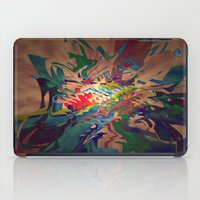 chaos iPad Cases featuring Chaos by lillianhibiscus