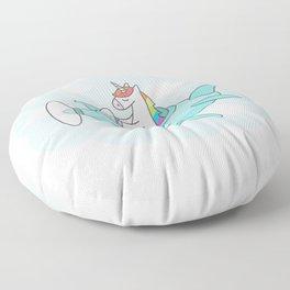 Unicorn Plane Floor Pillow