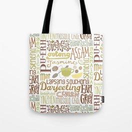 Teapography Tote Bag