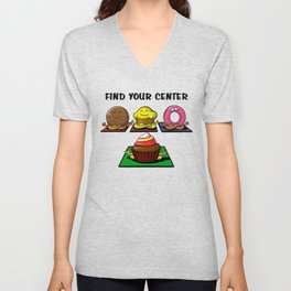 Find Your Center Everybody Unisex V-Neck