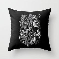 Mictlantecuhtli Throw Pillow