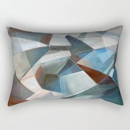 Spacial Abstraction II Rectangular Pillow