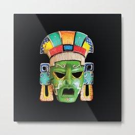 Masks of Mexico Metal Print