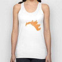 denver Tank Tops featuring Denver by d.bjorn