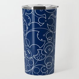 Gallifreyan Sherlock Travel Mug