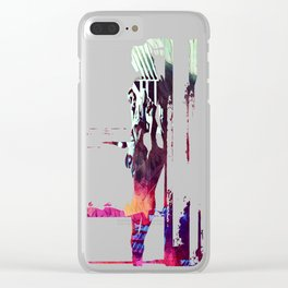 A Somber Affair Clear iPhone Case
