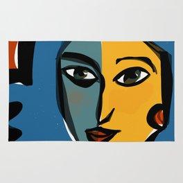 Staring at Matisse Rug