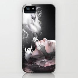 Thanatophobia iPhone Case