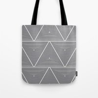 origami Tote Bags featuring Origami by Leandro Pita