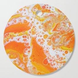 Summer Abstract #1 Cutting Board
