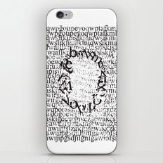 Letters  iPhone & iPod Skin
