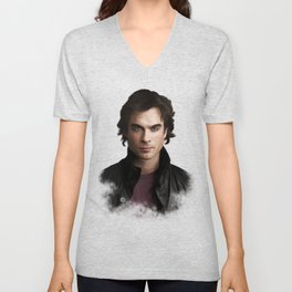 Damon Salvatore (Ian Somerhalder) Unisex V-Neck